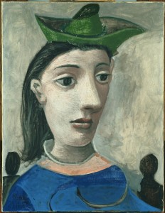 Pablo_Picasso_-_Donna_con_cappello_verde